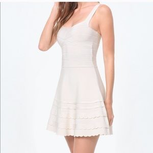 BEBE | Flared Bandage Dress Fancy Romantic Party